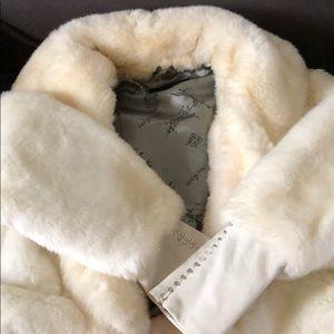 Baby Phat white Faux Fur jacket